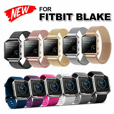 AU3.95 • Buy Various Luxury Band Replacement Wristband Watch Strap Bracelet For Fitbit Blaze