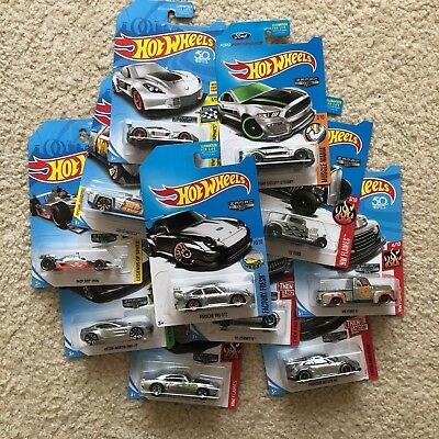 $3 • Buy 2017-2018 Hot Wheels ZAMAC - Selection - Porsche, Ford, Mustang, Corvette, Indy