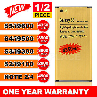 AU8.45 • Buy New Li-ion Replacement GOLD Battery For Galaxy S3 S4 S5 Note 2 3 4 OZ