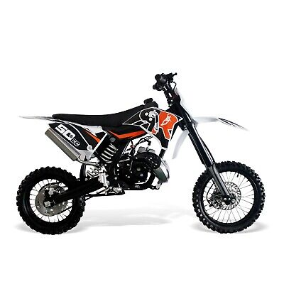 Dirt Bike 50cc-12/10 Wheels, 2 Stroke. Kick Start, Hydraulic Brakes/Forks-ORANGE • 699.99£