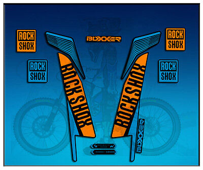 $15.59 • Buy Adesivi Stickers Forcella Rock Shox Boxxer World Cup AM77 Aufkleber Decals