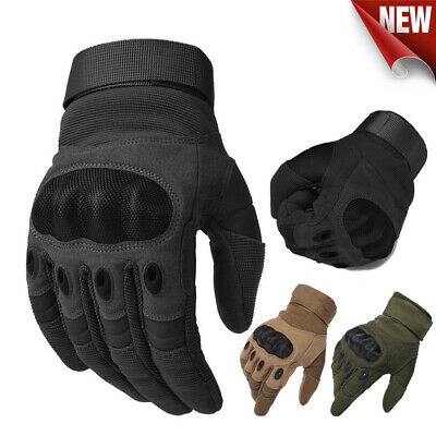 AU22.95 • Buy Motorcycle Gloves Army Military Tactical Motorbike Hiking Hunting Outdoor Sports