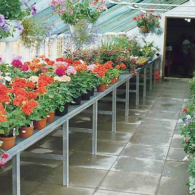 Greenhouse Commercial Benching Single Tier • 668.17£