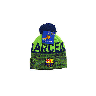bdf8961943f FC BARCELONA SOCCER BEANIE HAT CAP Official Licensed - Skull Shipped From  002 • 12.99