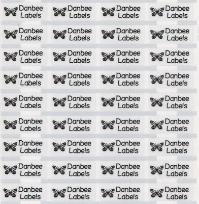 AU3.99 • Buy Small Clear Personalised Name Labels, Name Stickers, 22x09mm, Waterproof