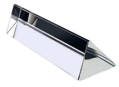 $11.80 • Buy 6 / 150mm Optical Glass Triangular Prism Triple Prism For Teaching Photography