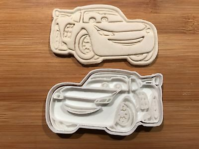 Lightning Mcqueen Cars Cookie Cutter Fondant Cake Decorating UK Seller • 4.50£
