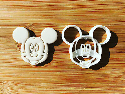 Mickey Mouse Uk SELLER Biscuit Cookie Cutter Fondant Cake Decorating • 9.50£