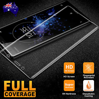 AU1.95 • Buy For Sony Xperia XZ2 Compact XA1 Ultra L2 XZ Full Tempered Glass Screen Protector