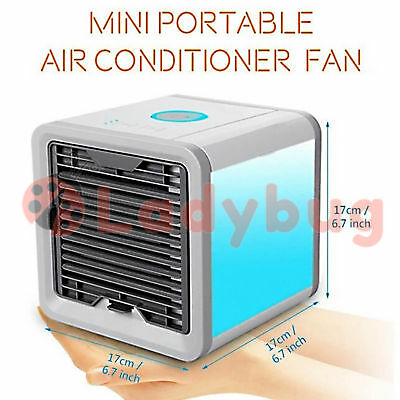 AU23.58 • Buy Portable Air Conditioner Cool Cooling  Mini Fan For Bedroom Cooler Fan USB