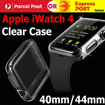 AU3.99 • Buy For Apple Watch Series 4 IWatch 40/44mm Clear TPU Screen Protector Case