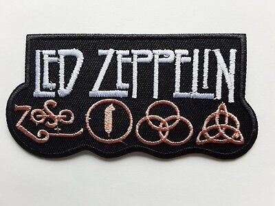 £3.49 • Buy Led Zeppelin British Classic Heavy Rock Music Band Embroidered Patch Uk Seller