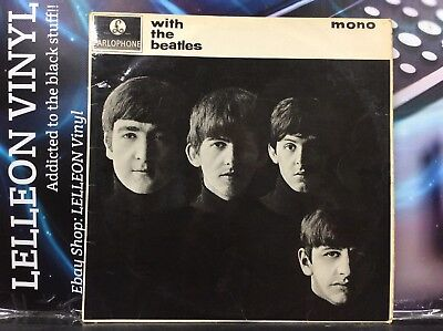 £45.98 • Buy The Beatles With The Beatles LP PMC1206 XEX448/447-1N 1963 UK Parlophone 60's