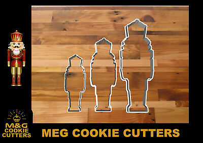 £3 • Buy Nutcracker For Cake - Cookies - Christmas Cookie Cutters - Fondant - Dough