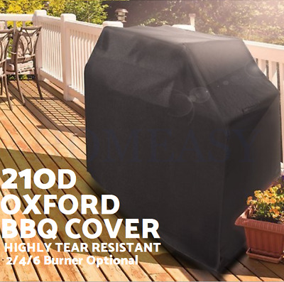 AU35.99 • Buy BBQ Cover 2 4 6 Burner Barbecue Grill Cover Protector Waterproof Outdoor Oxford