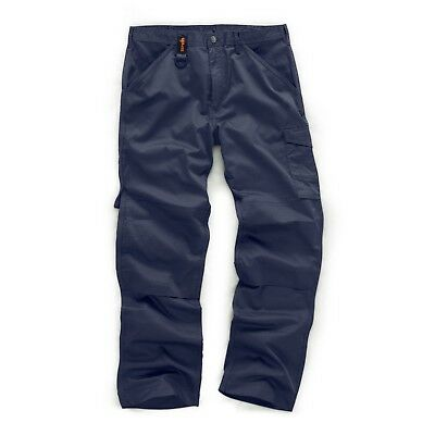 Scruffs WORKER NAVY Multi Pocket Work Trousers (All Sizes) Trade T50939 O/Style • 12.99£