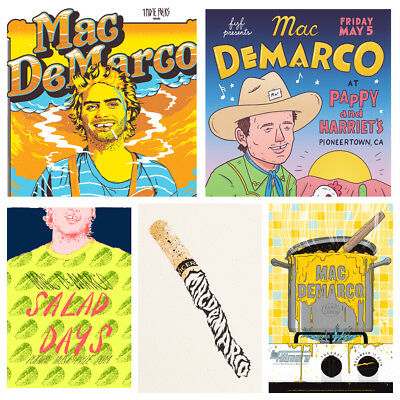 Mac Demarco Posters - Music Concert Posters - Salad Days Viceroy - A4 A5 Art • 5.49£