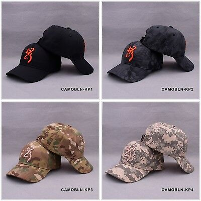 £8.51 • Buy Baseball Cap Hunting Camouflage Tactical Hiking Browning Camo Men Outdoor Hat