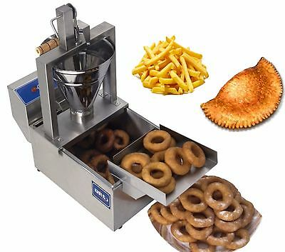 £403.09 • Buy New Electrical 3 In 1 DONUT FRYER Machine 120 Pcs/h 220V Commercial Or Home Use