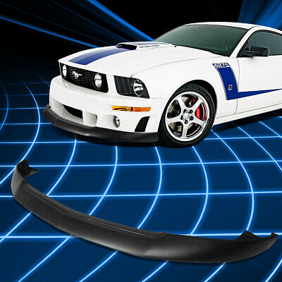 $177.88 • Buy For 05-09 Ford Mustang GT IKC Style Front Bumper Lip Spoiler Splitter Body Kit