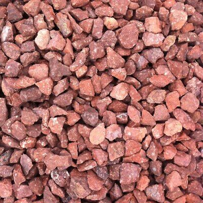 £13.99 • Buy 25KG BAG Decorative Aggregate RED GRAVEL CHIPPINGS 20mm   NEXT DAY DELIVERY
