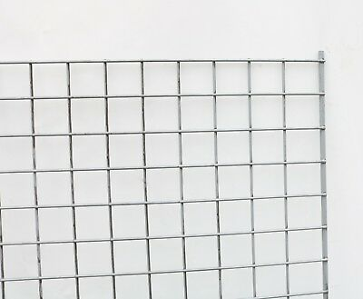 Welded Steel Wire Mesh Sheet Panel Chicken Animal Fence Fencing 1470mm X 1250mm • 10£