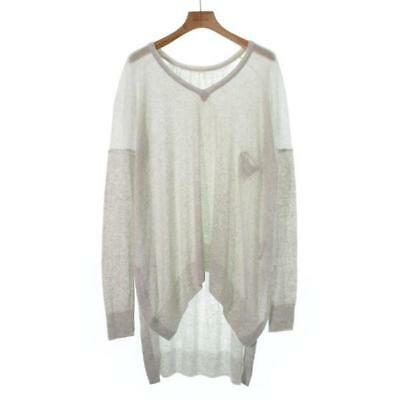 $ CDN99.42 • Buy KAMISHIMA CHINAMI  Sweaters  238842 WhitexGrey 38