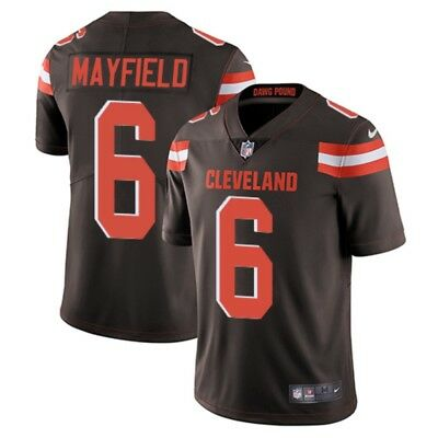 2754080b BRAND NEW stitched Baker Mayfield Cleveland Browns Men's Jersey S-2XL