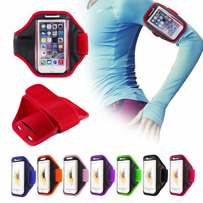 Sports Running Jogging Gym Armband Arm Band Case For Apple IPhone 5 6 7 8 X Plus • 4.89£
