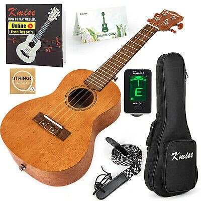 AU60.99 • Buy Ukulele Concert Mahogany Ukulele Uke Hawaii Guitar 23 Inch For Beginner