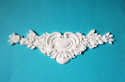 AU14.45 • Buy 1x Shabby Chic French Furniture Moulding Furniture Applique Carving Onlay