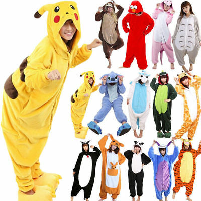 Cosplay Anime Pyjamas Costume Hoodies Animal Adult Bodysuit Unisex Fancy Dress  • 11.50£