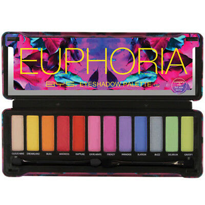 AU18.99 • Buy BYS EUPHORIA Eyeshadow Palette 12 Shades,Naked Natural Eye Shadow - Sealed