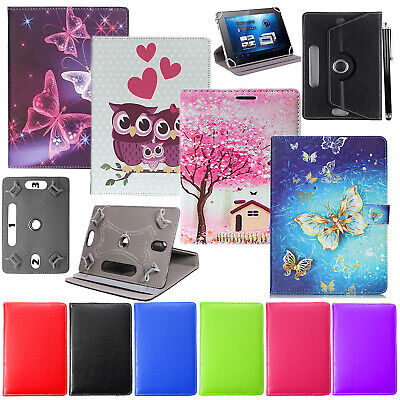 For Huawei MediaPad T5 10.1  Tablet 360°Rotating Universal PU Leather Case Cover • 4.99£