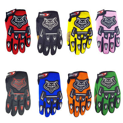 AU13.95 • Buy Kids Bike Gloves Children Motorcycle Gloves MX Motorbike Motocross BMX MTB
