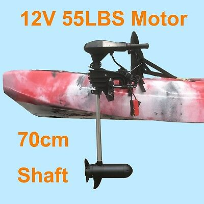 AU205 • Buy 55lbs Thrust Kayak Motor Outboard Canoe Inflatable Boat Trolling Electric 12V