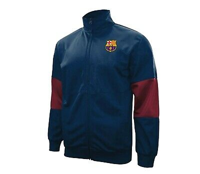 27c12e271 Fc Barcelona Zip Up Hoodie Jacket Track Soccer Adult Youth All Sizes Messi  10 2 •