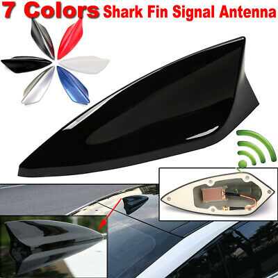 £5.99 • Buy 7 Colors Universal Car Shark Fin Signal Antenna Roof Radio Aerial Replacement