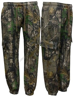 £14.99 • Buy Mens Jungle Fishing/Hunting Camouflage Fleece Jogging Bottoms Trouser S - 5XL