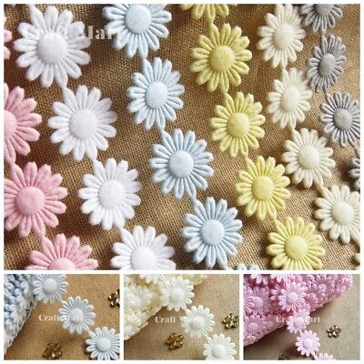 Soft Fleece Baby Plush Trim Ribbon Shower Sewing Lace Newborn Craft Flowers • 1.79£