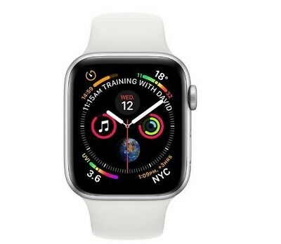 $ CDN608.19 • Buy Brand New Apple Watch Series 4 44mm AL Grey/Gold/Silver Sports Band Cellular