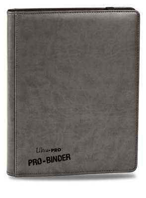 AU45.95 • Buy PREMIUM 9-Pocket GREY PRO-Binder Leatherette Look - Ultra Pro 84198