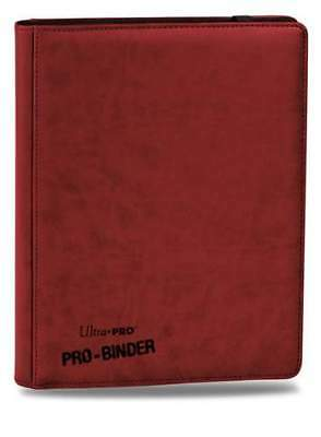AU45.95 • Buy PREMIUM 9-Pocket RED PRO-Binder Leatherette Look - Ultra Pro 84195