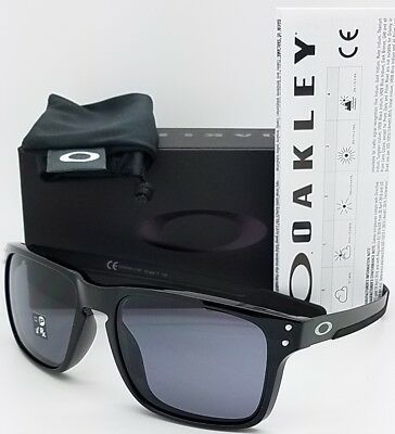 430ab600f67e2 NEW Oakley Holbrook Mix Sunglasses Polished Black Grey 9385-01 AUTHENTIC  Oo9385 • 79.99