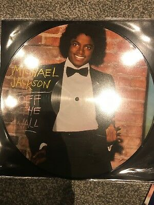 Michael Jackson  Off The Wall  Picture Disc Vinyl LP Brand New -  2018 Pressing • 15.95£