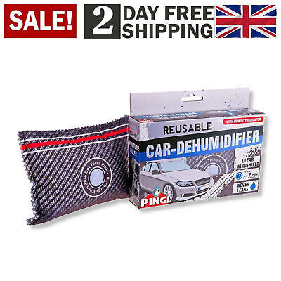 £11.11 • Buy Pingi Dehumidifer For Car And Home Eliminate Moister Vehicle Water Absorber 299g