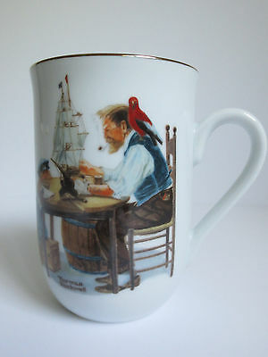 $ CDN10.55 • Buy Set Of 4 Norman Rockwell Coffee Mugs The Norman Rockwell Museum