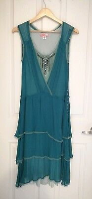 AU45 • Buy 100 Silk Dress/ American Urban Outfitters/us Size 5