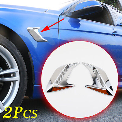$ CDN14.89 • Buy 2X Universal Accessories Air Vent Inlet Decoration Parts For Car Body Side Trim