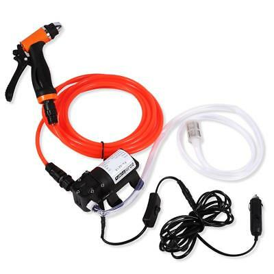 12V Portable High Pressure Self-priming Quick Car Cleaning Water Pump Electric • 24.69$
